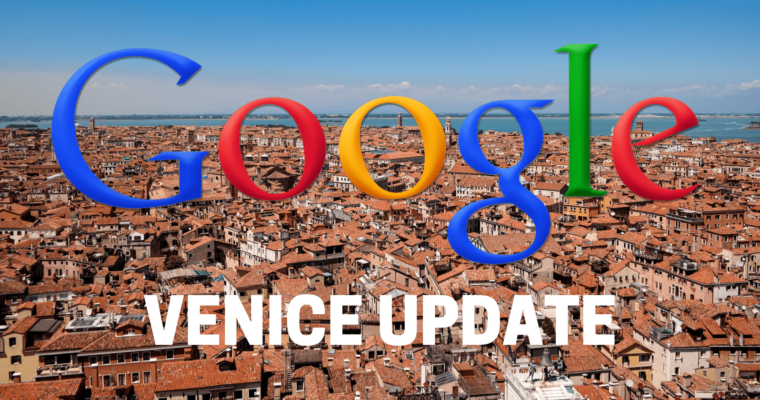 This Google Core Algorithm Update Venice