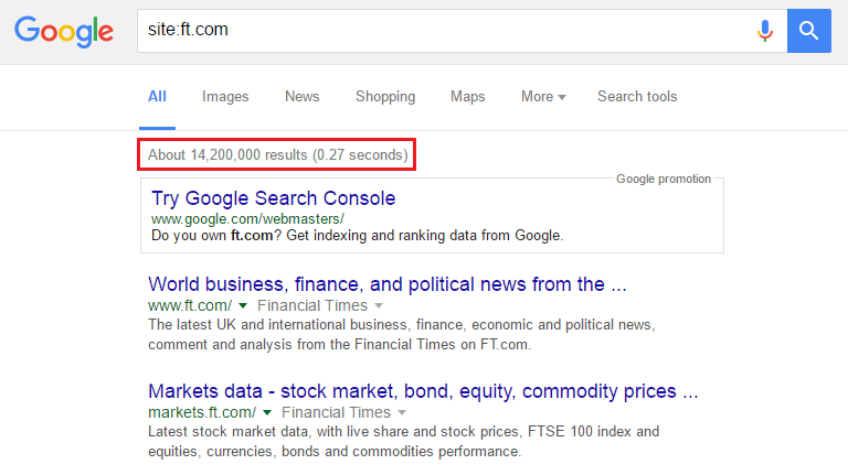 indexed pages with seo audit